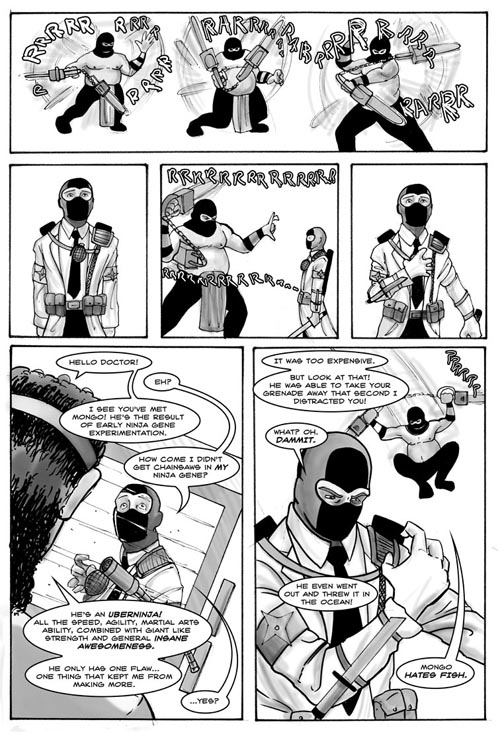 Dr. McNinja at your service