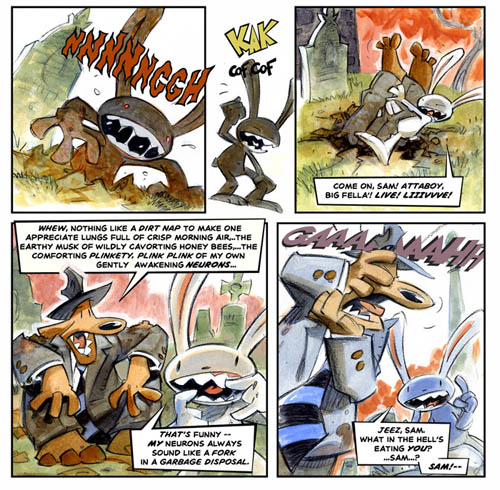 The Webcomic Overlook presents Sam & Max