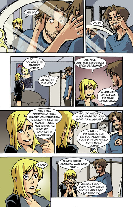 Marry Me, the webcomic