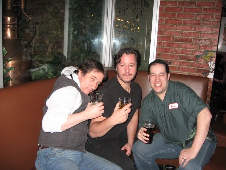 Neil Kleid (right) with Tony Lee and Dean Haspeil.  (Photo courtesy of PW Beat.)
