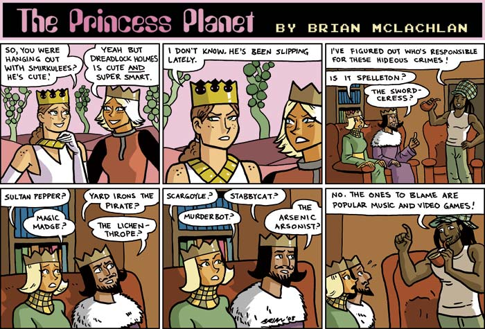 The Princess Planet
